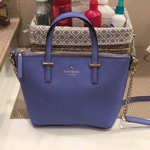 Kate spade small blue purse